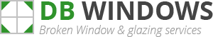 Bangor Broken Window Logo